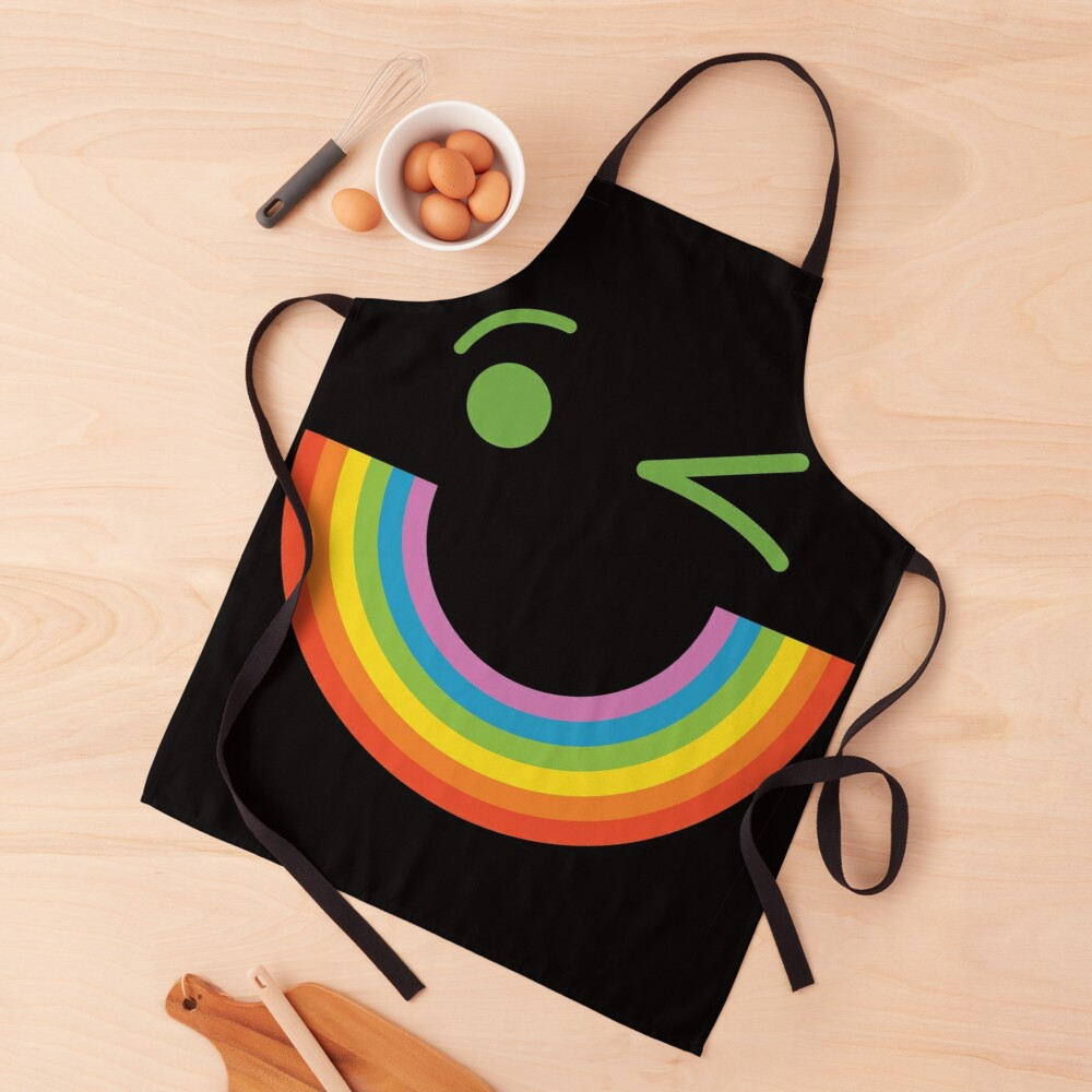 Smile Rainbow  Apron