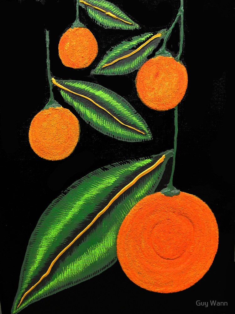 Some Oranges 2 by Guy Wann