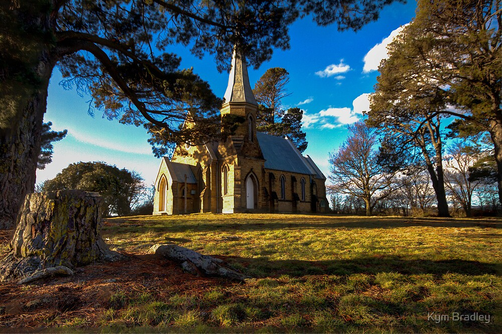 St Thomas Carwoola  Rural NSW Australia  by Kym Bradley