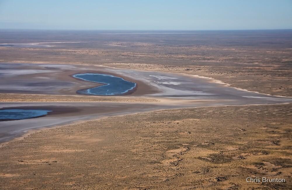 Lake Eyre, the heart of Australia by Chris Brunton