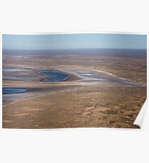 Lake Eyre, the heart of Australia Poster