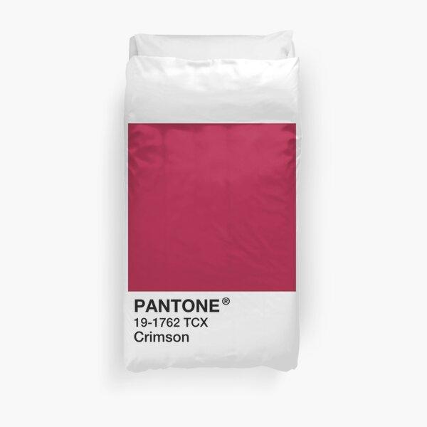 PANTONE Crimson - Red / Maroon Duvet Cover