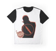 RED Spy - Team Fortress 2 Graphic T-Shirt