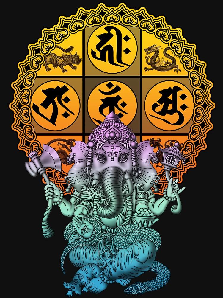 Ganesha Diamond Realm by kuuma