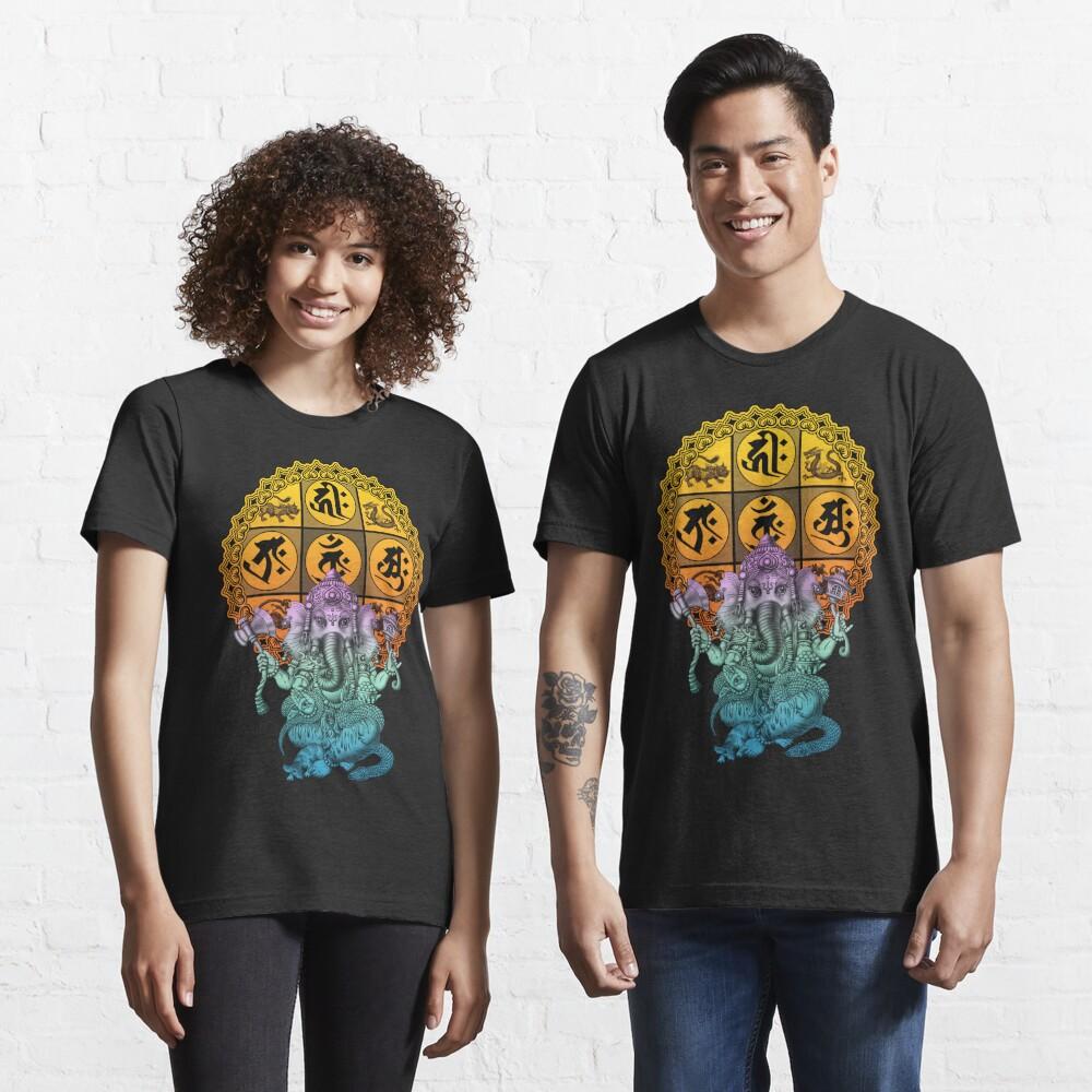 Ganesha Diamond Realm Essential T-Shirt