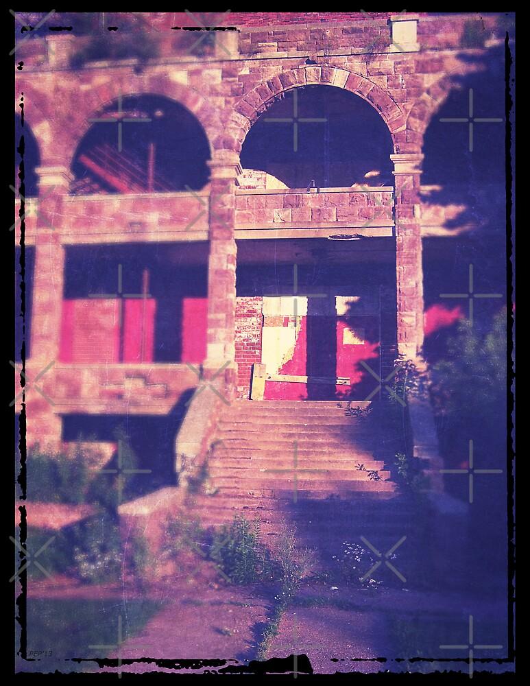 Broken Down Building by Phil Perkins