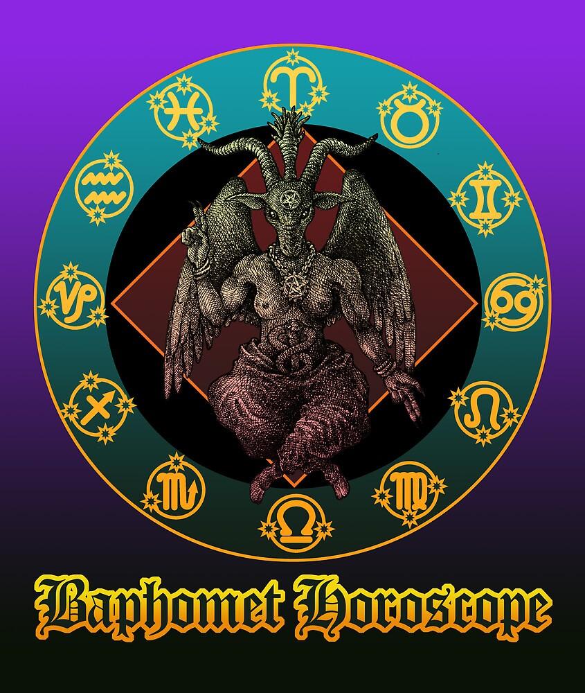 Baphomet and horoscope by kuuma