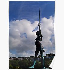 The Verity Statue. Poster