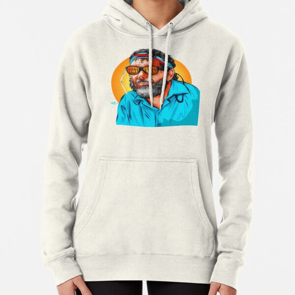 Sam Peckinpah - An illustration by Paul Cemmick Pullover Hoodie