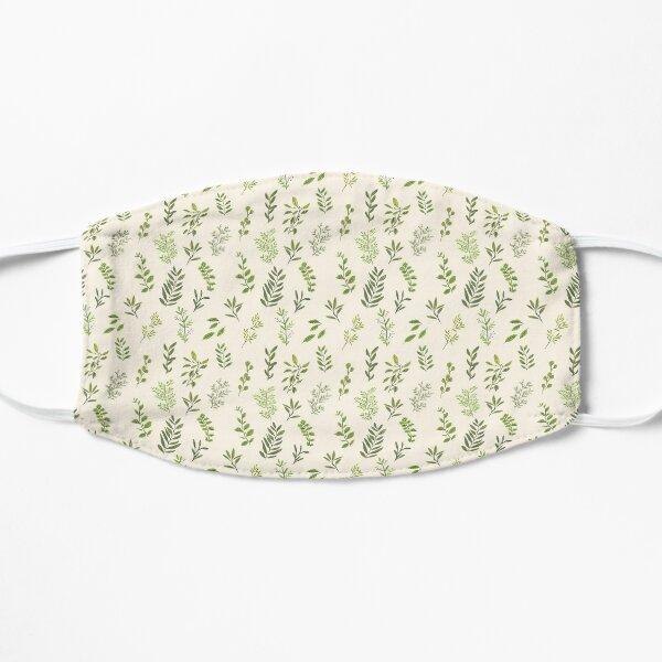 Leaf Pattern Flat Mask