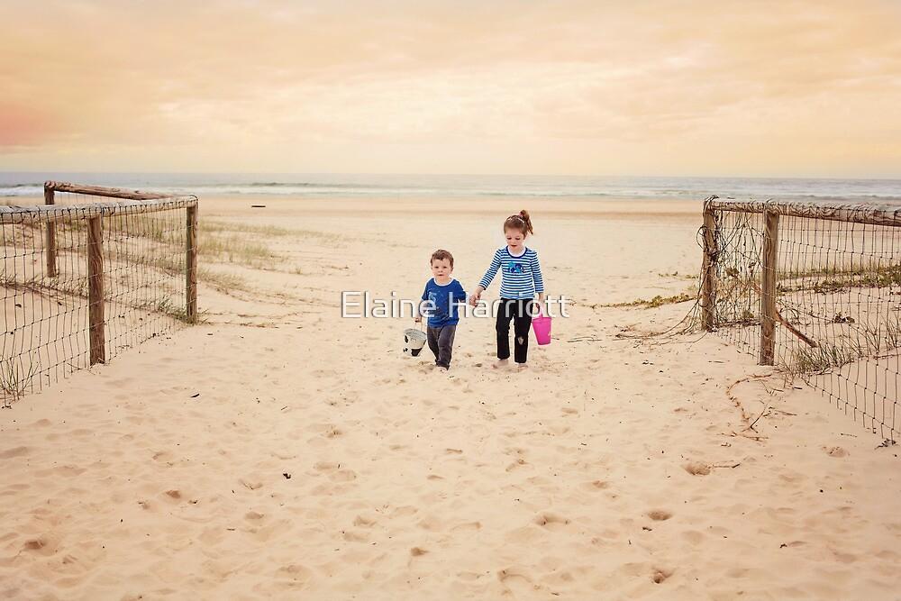 Caitlyn & Mitchell July 2013 by Elaine Harriott