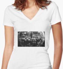 Dollar Store Gumballs Women's Fitted V-Neck T-Shirt
