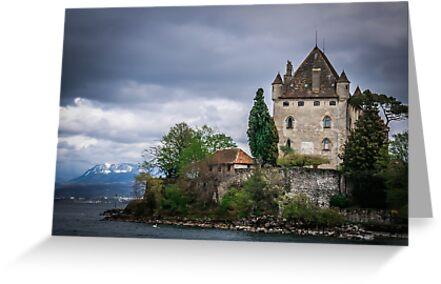 Yvoire Medieval Castle, France by Tamás Klausz