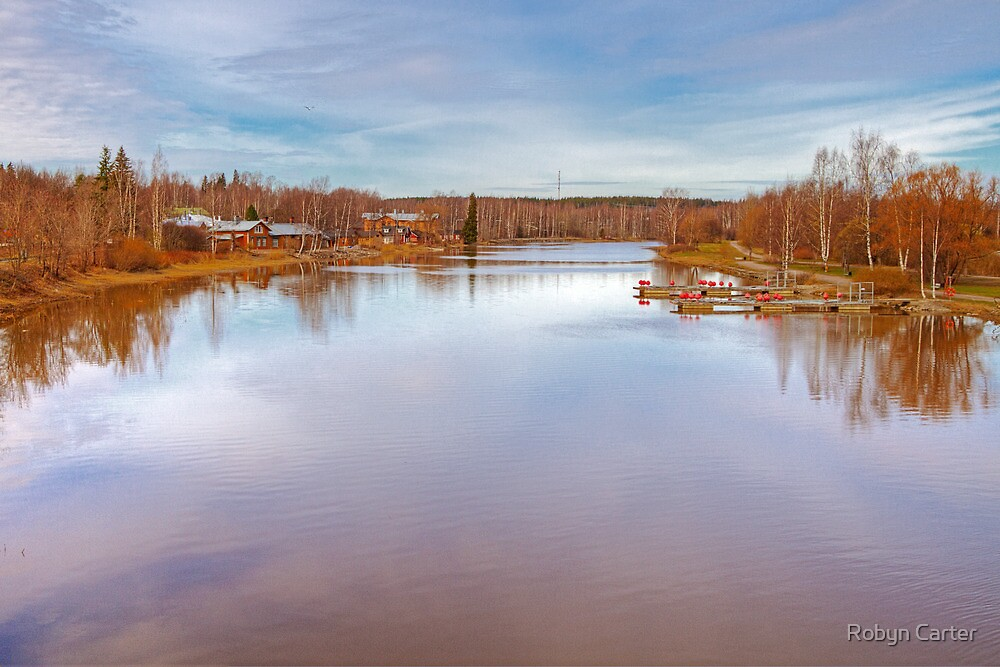 River at Porvoo, Finland by Robyn Carter