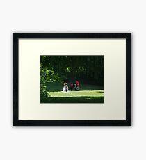 Baby's elevenses Framed Print