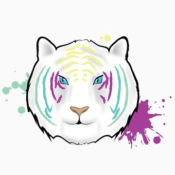 Rainbow Tiger by donnamccrimmon