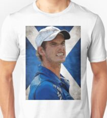 Andy Murray Scottish Flag T-Shirt