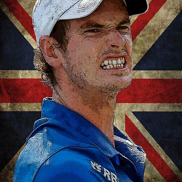 Andy Murray British Flag by rodgers37