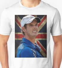 Andy Murray British Flag T-Shirt