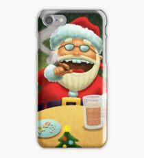 Santa's New Years Eve! iPhone Case/Skin