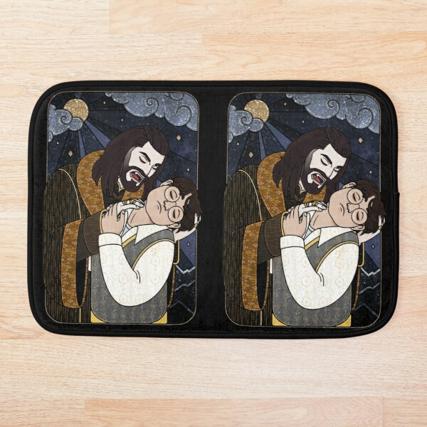 Vampir kiss Bath Mat