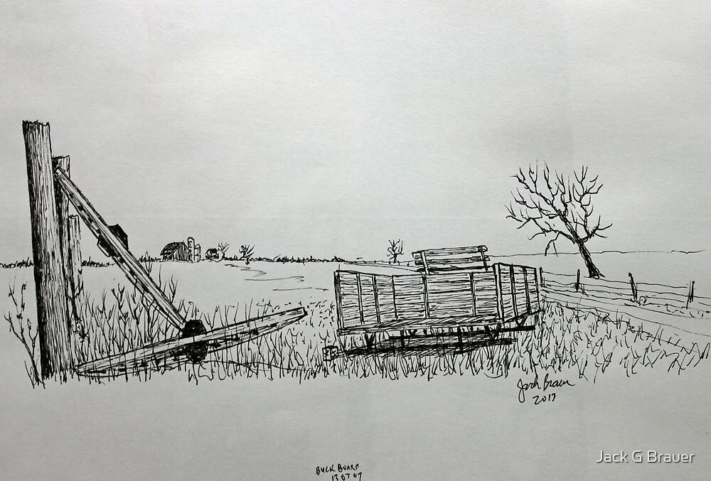Buckboard by Jack G Brauer