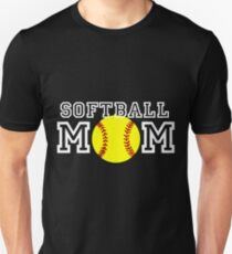 fe7e5eb4e8b Softball Mom Unisex T-Shirt