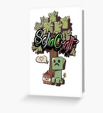 SofiaCraft Server Greeting Card
