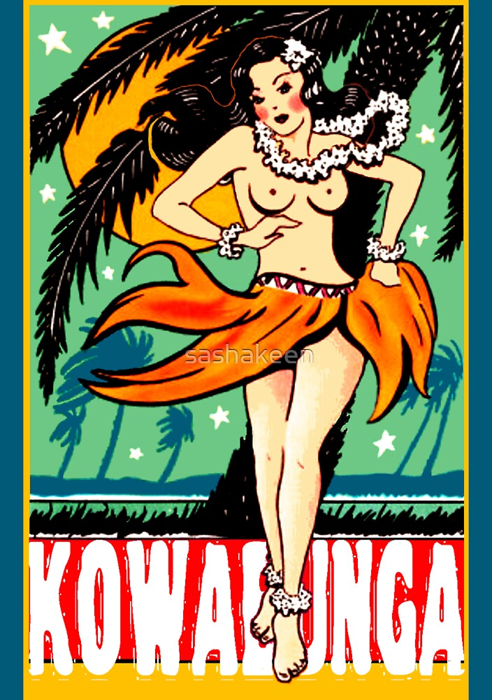 Kowabunga! by sashakeen