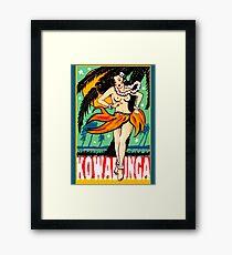 Kowabunga! Framed Print