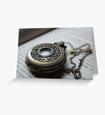 Pocket Watch Two Greeting Card