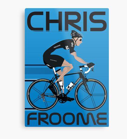 Chris Froome Metal Print