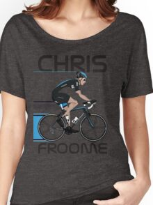 Chris Froome Women's Relaxed Fit T-Shirt