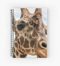 Giraffe Love ~  Spiral Notebook
