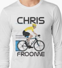 Chris Froome Yellow Jersey Long Sleeve T-Shirt