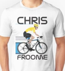 Chris Froome Yellow Jersey Unisex T-Shirt