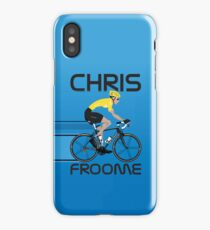 Chris Froome Yellow Jersey iPhone Case