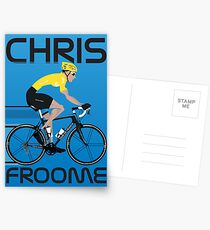 Chris Froome Yellow Jersey Postcards