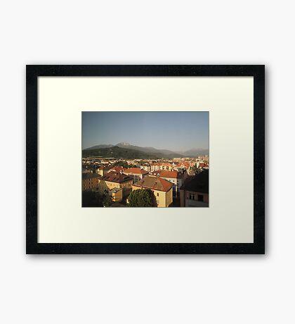 Innsbruck Morning Framed Print