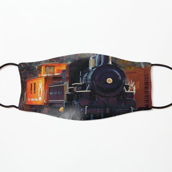 The Rail Yard  -  Steam Train Kids Mask