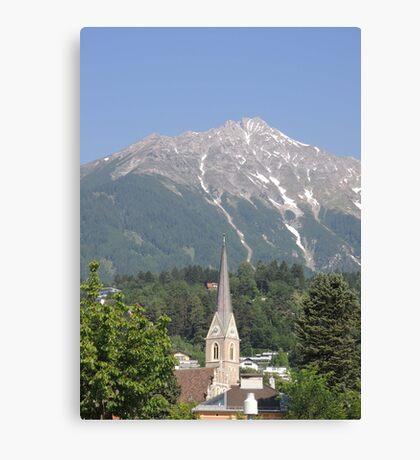 Reaching For The Top: Austria Canvas Print