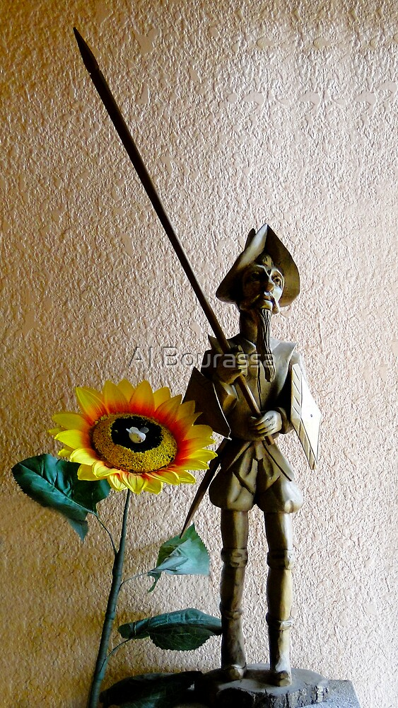 Don Quixote III by Al Bourassa