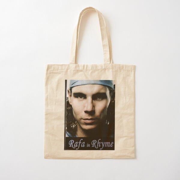Rafael Nadal (Rafa in Rhyme book Cover photo) Cotton Tote Bag