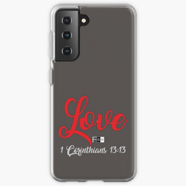 Love Samsung Galaxy Soft Case