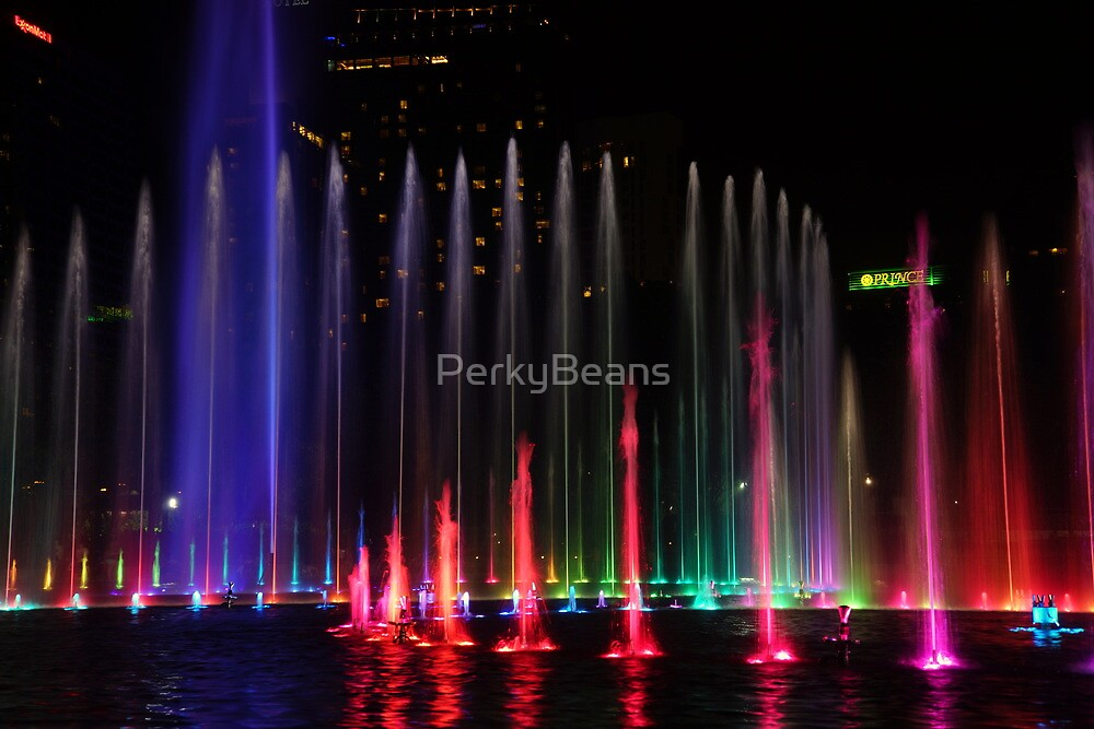 Colorful Fountain by PerkyBeans