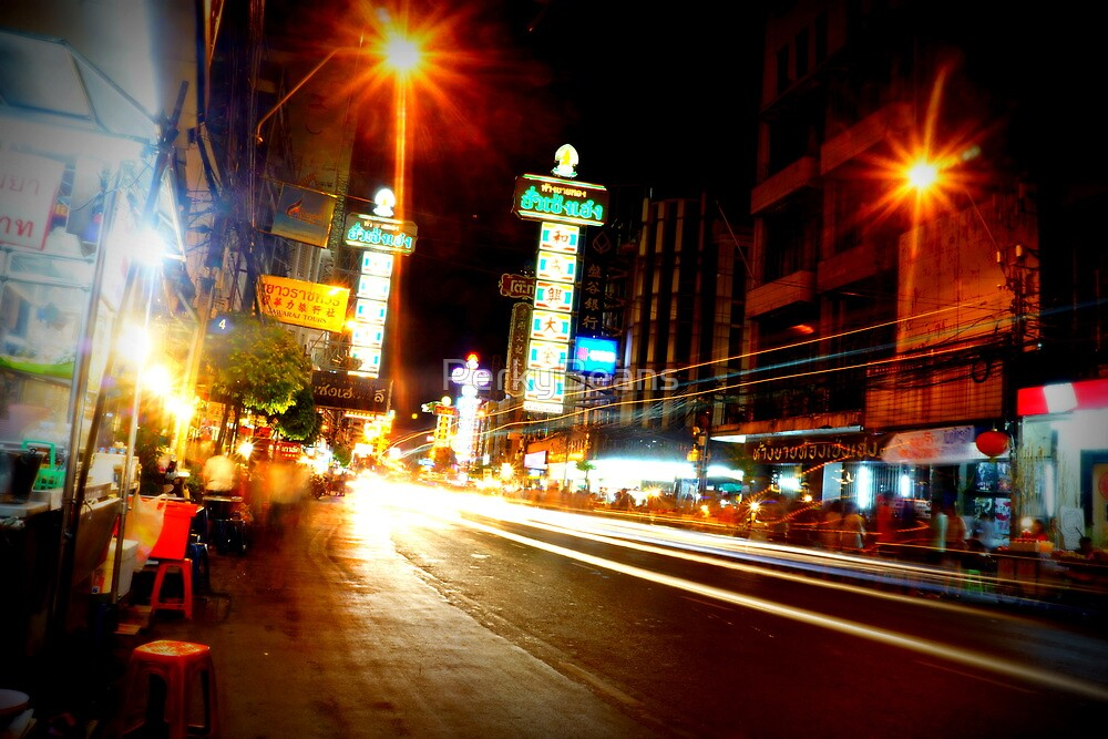Chinatown Bangkok by PerkyBeans