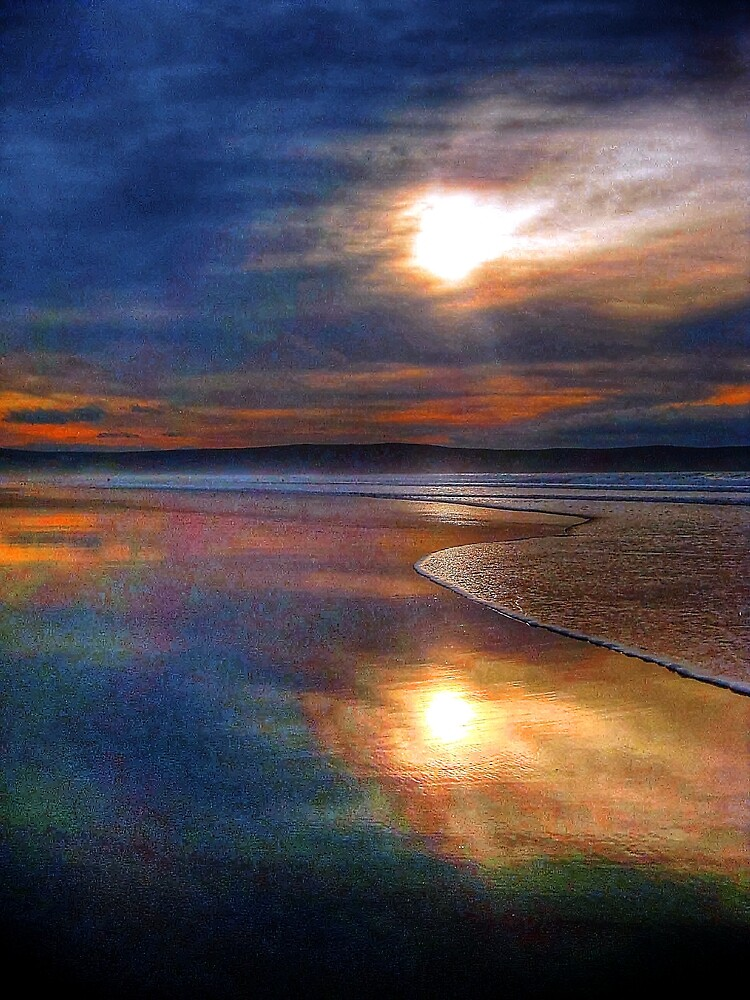Woolacombe beach by teejay1980