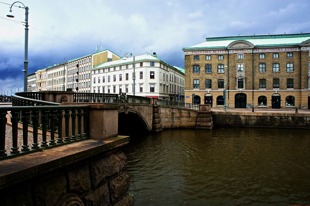 Gothenburg canal by PlanetFranck