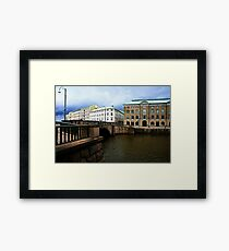 Gothenburg canal Framed Print