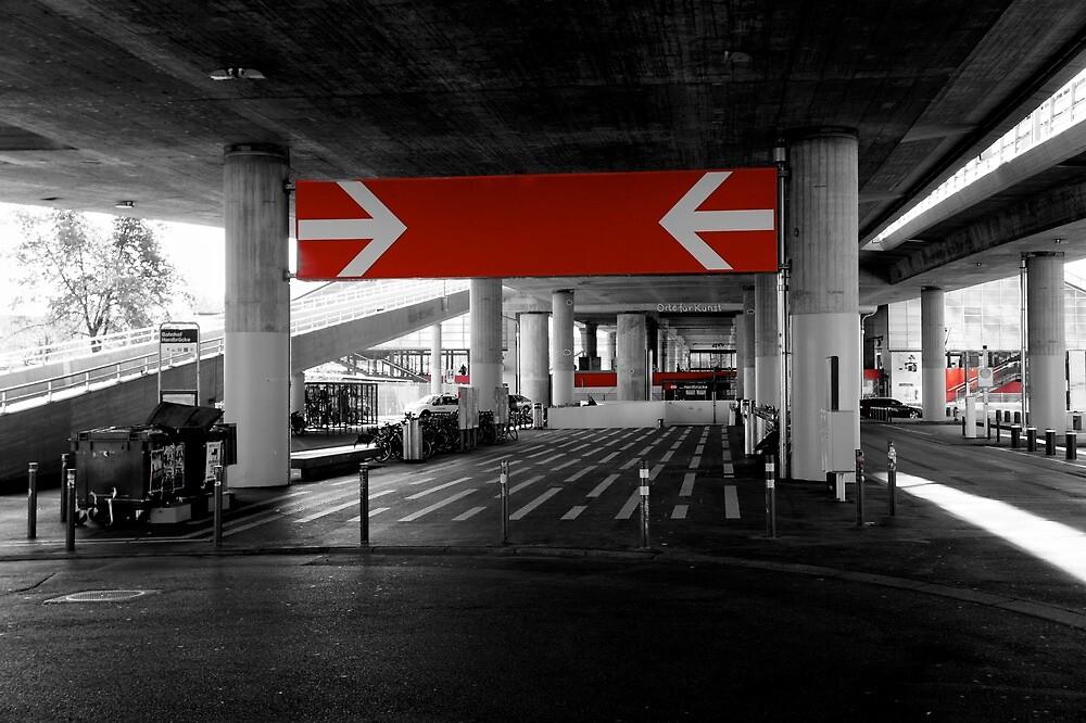 Hardbrücke Station in Zurich by PlanetFranck